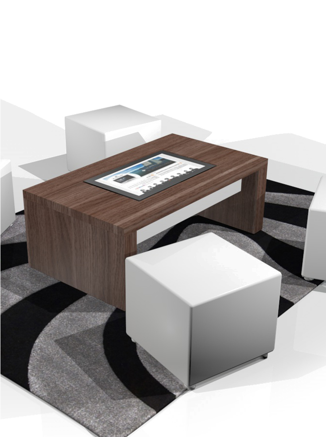 table basse tactile